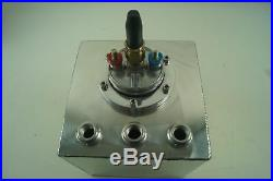 1.5 Litre Swirl Pot/Tank + 044 Type Fuel Pump + 3 x AN6 Fittings
