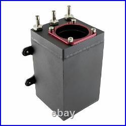 1,6 Liter Aluminium Catchtank m. 044 Pumpe Alu Kraftstofftank Benzin Rallye Tank