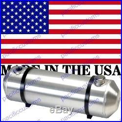 10X39 Inch Gas Tank End Fill Spun Aluminum With Fuel Sender Flange 13 Gallon