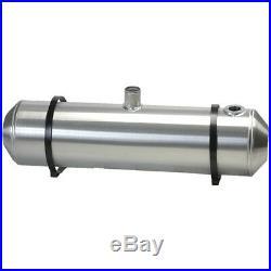 10X40 Center Fill Spun Aluminum Gas Tank With Remote Filler Neck And Sender