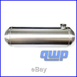 11 Gallon Round Spun Aluminum Hotrod Streetrod Fuel Tank 10 x 33 Inch End Fill