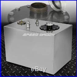 12 Gallon/45l Top-feed Aluminum Racing/drift Fuel Cell Gas Tank+cap+level Sender