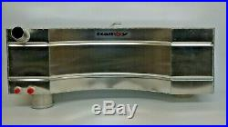12 Gallon Ford Escort Mk2 Alloy injection fuel tank L. Hand well VDO Boss Rally