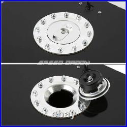 15.5 Gallon/59l Black Coat Aluminum Racing/drift Fuel Cell Tank+cap+level Sender