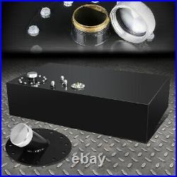 17 Gallon/64l Top-feed Black Aluminum Fuel Cell Gas Tank+cap+45 Fast Fill Neck