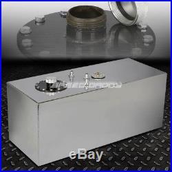19 Gallon/72l Top-feed Aluminum Racing/drift Fuel Cell Gas Tank+cap+level Sender
