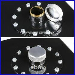 19 Gallon/72l Top-feed Black Aluminum Fuel Cell Gas Tank+cap+45° Fast Fill Neck