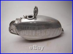 1965-76 Cz Aluminum Hi Point Moto Cross 125 250 380 400 Fuel Gas Tank Used F0748