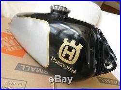 1975 1980 HUSQVARNA OEM gas fuel petrol CR Aluminum TANK Vintage MX MotoCross