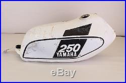 1975 75 YAMAHA MX250 MX 250 Gas Tank Fuel RARE ALUMINUM