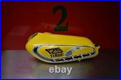 1976 Yamaha YZ125 OEM Fuel Tank Aluminum Yz 125 76 Yz 125c Yz100 YZ175 2gr #2