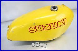 1977 Suzuki RM125 GAS FUEL TANK CELL PETROL RESERVOIR ALUMINIUM 44110-41001-163