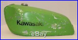 1978 Kawasaki Kx250 Kx 250 Aluminum Gas Tank Fuel Tank Look Vintage MX Racers