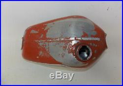 1980 Husqvarna Alloy Aluminum Fuel Gas Tank Red Cr Wr Or 125 250 420