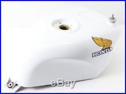 1988 HONDA VFR750R RC30 Genuine Aluminum Fuel Gas Tank Limited White kkk