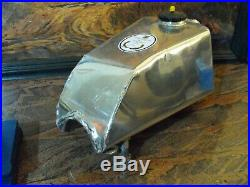 #2 GAS TANK maico 1973 1972 radial 400 aw aluminum 501 250 125 vintage mx