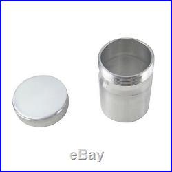 2 O. D Aluminium Alloy Weld On Filler Neck and Cap Splash Bowl Fuel Tank+CAP UK