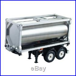 20 Foot CNC Machined Aluminium Fuel Tank Container for 114 RC Semi Trailers