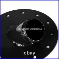 20 Gallon/76l Black Aluminum Fuel Cell Tank+cap+level Sender+45 Fast Fill Neck