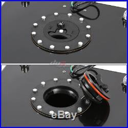 20 Gallon Light Performance Black Coated Aluminum Fuel Cell Tank+level Sender