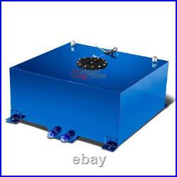 20 Gallon Lightweight Blue Aluminum Gas Fuel Cell Tank+level Sender 20x24x10