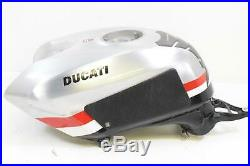 2010 Ducati 1198 S Corse Oem Aluminum Fuel Gas Petrol Tank Scratches 58611001A