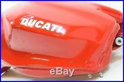 2012 Ducati Panigale 1199S Nice Red Aluminum Gas Petrol Fuel Tank 58611923A
