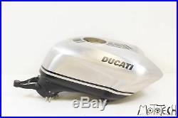 2013 Ducati 848 Evo Corse SE ALUMINUM Fuel Gas Petrol Tank 58611001BB