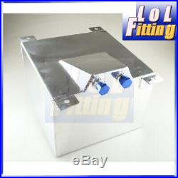 20L / 5 Gallon Fuel Cell Tank Lightweight Aluminum With Safety Foam Universal