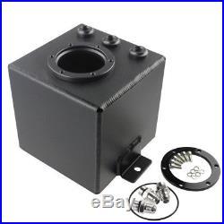 2l Aluminum Fuel Surge Tank An6 For 044 Fuel Pump Black Pro Upgrade
