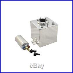 3 L Liter Aluminium Renntank Alu Tank Catchtank Fuel Surge Benzintank Swirl