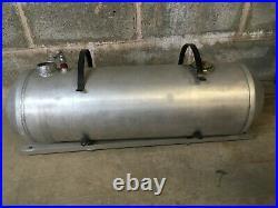32x10 spun aluminum tank and bracket