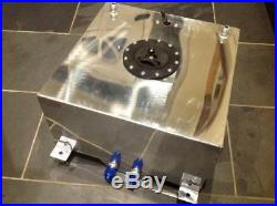 40 Litre Fuel Cell/tank With Level Sender Unit, Polished Aluminium
