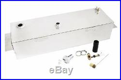 47-54 Chevy Pickup truck 15 Gallon Aluminum Fuel Gas Tank / Fuel Cell Kit