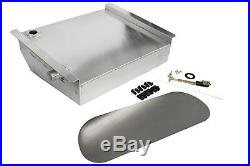 49-54 Chevy Car 19 Gallon Aluminum Fuel Gas Tank / Fuel Cell Kit with Sending Unit