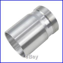 50.8mm Aluminium Weld On Filler Neck with 65mm Cap Black Dry Sump Fuel Oil Tank