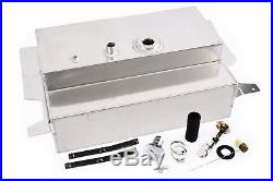 53-56 Ford F100 Pickup Truck 17 Gallon Aluminum Fuel Gas Tank / Fuel Cell Kit