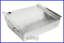 55-57 Chevy Car 19 Gallon Aluminum Fuel Gas Tank / Fuel Cell Kit with Sending Unit