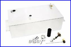 55-59 Chevy Pickup Truck 16 Gallon Aluminum Fuel Gas Tank / Fuel Cell Kit