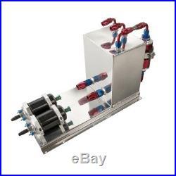 5L Aluminium Benzin Catchtank Einheit (inkl. Benzinfilter und Pumpenhalter)