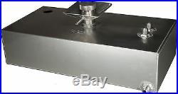 6 Gallon Aluminium JIC Fuel Tank with Splash Bowl & Sender Hole Race OBPFTSSBJIC02