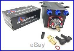 60mm External Port with Hi Flow Fuel Pump & Tank Kit Billet Aluminium AN8 Fittings