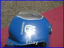 81-82 HUSQVARNA HUSKY ALUMINUM FUEL GAS TANK BLUE ahrma vintage motocross