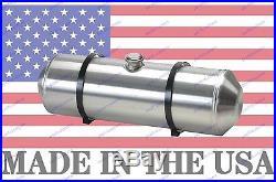 8X24 Spun Aluminum Gas Tank 5 Gallons Rat Rod Dune Buggy Sandrail Trike