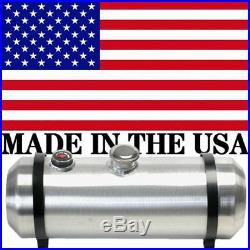 8x24 Spun Aluminum Gas Tank 5 Gallons With Sight Gauge Dune Buggy, Center Fill