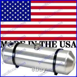 8x24 Spun Aluminum Gas Tank With Sending Unit Flange