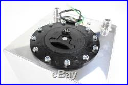 9 Liter Motorsport Kraftstofftank Aluminium Renntank Benzintank fuel cell DASH