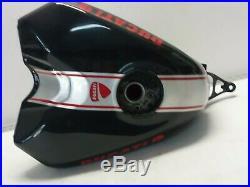 ALUMINUM GAS FUEL PETROL TANK Ducati 848 1098 1198 2008-2014