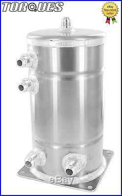 AN-10 (-10 AN) / AN-8 (-8 AN) JIC 3.0 Litre Aluminium Alloy Fuel Swirl Pot Tank