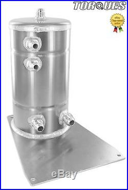 AN-10 /AN-8 3.0 Ltr Direct To Twin Bosch 044 Aluminium Fuel Surge Swirl Pot Tank
